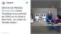 Greta Thunberg ira au sommet de l'ONU sur le climat à New-York… en voilier du Vendée Globe