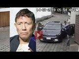 Así entraron los delincuentes a robar a casa de Juan Osorio