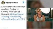 Deauville : Kristen Stewart recevra un prix d'honneur au festival du film