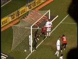 11/01/03 : Dominique Arribagé (84') : Rennes - Guingamp (2-1)