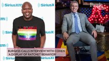 Tituss Burgess Slams Andy Cohen's 'Blatant Disregard' for Him as Host Dismisses Awkward WWHL Banter as 'Entertaining'
