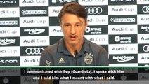 Kovac confirms communication with Guardiola over Sane transfer