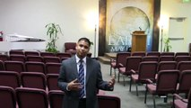 Amer Subba preaching Word of God at youth Services - video