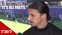 """""""It's all facts"""" - Ibrahimovic doubles down on 'Ferrari among Fiats' comment"""