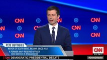 Dem Debates: Mysterious 'Thing' On Buttigieg's Forehead Goes Viral