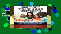 About For Books  Literacy-Based Speech and Language Therapy Activities: Successfully Use