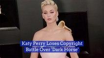 Katy Perry Loses Big 'Dark Horse' Case