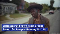 Lil Nas X Smashed Through A Massive Music Record