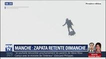 Franky Zapata retentera dimanche de traverser la Manche à bord de son Flyboard