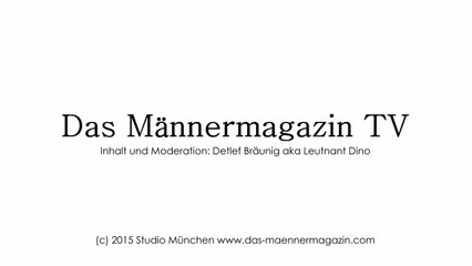 Das Männermagazin TV, Folge 33, Leutnant Dino und der Bulldog Betti