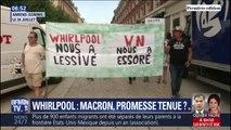 Whirlpool: avec seulement 44 salariés sauvés, Emmanuel Macron a-t-il trahi une promesse de campagne ?