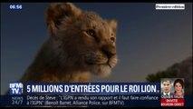 Le Roi Lion dépasse les 5 millions d'entrées en France en deux semaines