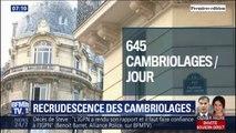 Les cambriolages sont en hausse depuis le début de l'année, 645 par jour en moyenne en France