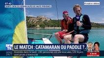 Les Matchs de l'été: Catamaran VS Paddle