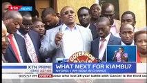 Deputy governor James Nyoro takes over Kiambu as MCAs plot Waititu's impeachment