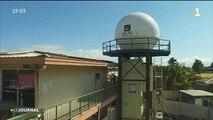 Une antenne pour recueillir des données météorologique