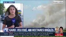 Le feu à Générac dans le Gard ne progresse plus, mais il n'est pas encore maîtrisé