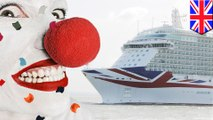 Clown sparks cruise ship buffet brawl