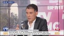"""Mort de Steve: pour Olivier Faure, """"il semble que les policiers aient contribué au chaos de ce moment-là"""""""