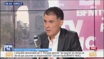 """Mort de Steve Maia Caniço: Olivier Faure (PS) estime que Christophe Castaner a """"une responsabilité"""""""