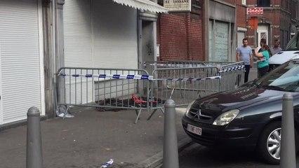 LIEGE - Deux enfants tombent d'un balcon rue du Marché à Bressoux