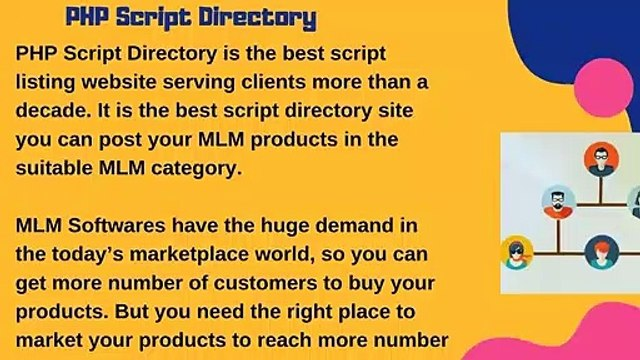 MLM Softwares - PHP MLM Scripts - Multi Level Marketing Software - Readymade PHP MLM Softwares
