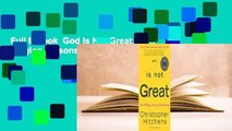 Full E-book  God Is Not Great: How Religion Poisons Everything  For Free