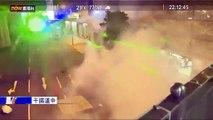 Hong Kong: Regardez les images des manifestants qui pointent des lasers sur la police pour empêcher la reconnaissance faciale - VIDEO
