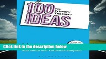 [FREE] 100 Ideas for Primary Teachers: Literacy (100 Ideas for Teachers)
