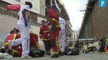 Paris : une passerelle de chantier s'effondre, un mort et trois ouvriers blessés