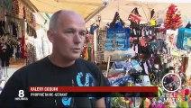 Étretat : la baignade toujours interdite, le ras-le-bol des commerçants
