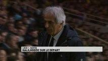 Vahid Halilhodžić sur le départ