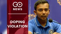 Prithvi Shaw Suspended Over Doping Violation