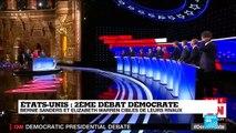 Débat entre démocrates américains: Bernie Sanders et Elizabeth Warren cibles de leurs rivaux