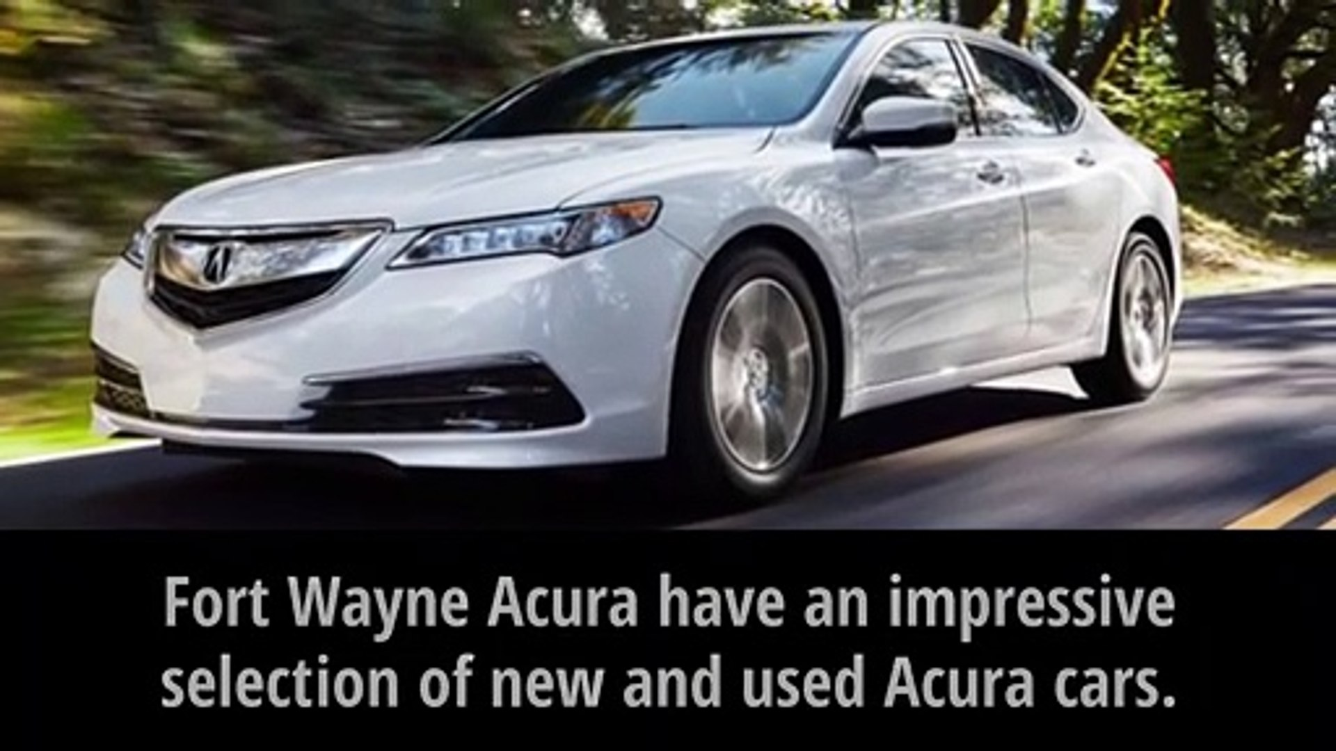 Fort Wayne Acura >> Acura Cars For Sale In Fort Wayne Fort Wayne Acura