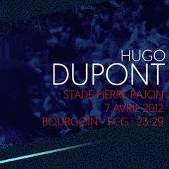 L'essai d'Hugo Dupont à Bourgoin en 2012