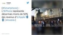 Produit star d'Apple, l'iPhone concentre désormais moins de 50% des revenus de la marque