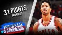 Derrick Rose Full Highlights 2015 ECSF Game 4 Bulls vs Cavaliers - 31 Pts, 2 GOOD- - FreeDawkins