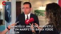 """İBB Başkanı Ekrem İmamoğlu: """"Derhal gereği yapılmalı, burası eş, dost, akraba yeri değil"""""""