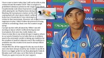 Full Text of Prithvi Shaw's Statement After BCCI Hands Him Prohibit For Failing Dope Test   Oneindia
