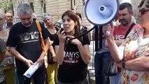 Laia Roca, jutjada per les protestes per la detenció de Puigdemont, després de conèixer la sentència