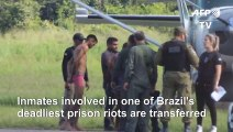 Inmates behind Brazil deadly prison riot transferred