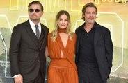 Brad Pitt  revelou que foi moleza trabalhar com Leonardo DiCaprio