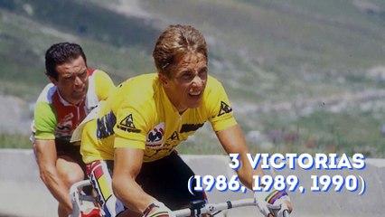 Los 10 ciclistas con más victorias del Tour de Francia