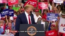 États-Unis : en plein discours, Donald Trump accusé de racisme