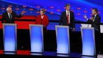 Moderates vs. progressives at Democratic debate in Detroit