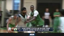 Kyrie Irving, Celtics On Good Terms Despite Tumultuous Free Agency