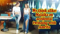 We think alike: Malaika on accidental twinning with Amrita