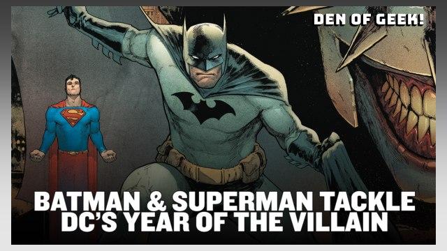 SDCC (2019)  -  Josh Williamson on Batman & Superman + DC's Year of the Villain