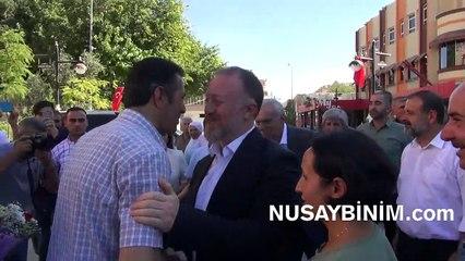 HDP Eş Genel Başkanı Sezai Temelli, Nusaybin'de